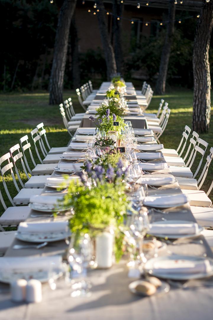 alquiler mantelería lisa, éxito de eventos, bodas y reuniones