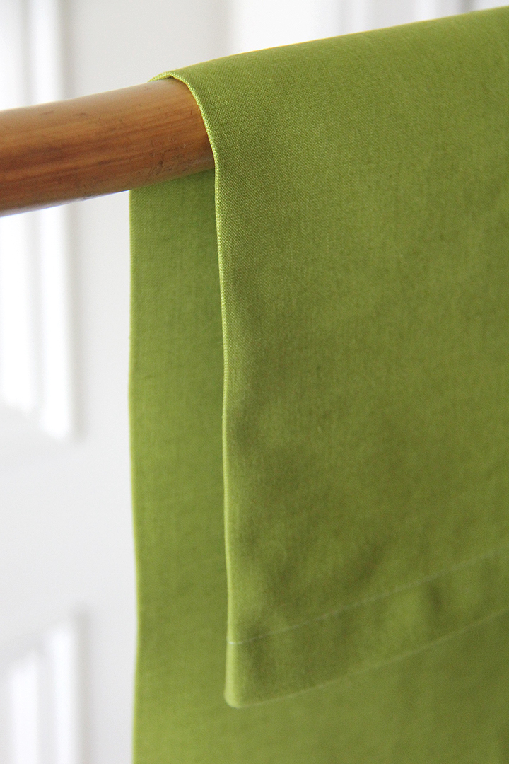servilleta verde pistacho de lino ideal para combinar con mantelerias lisas o estampadas