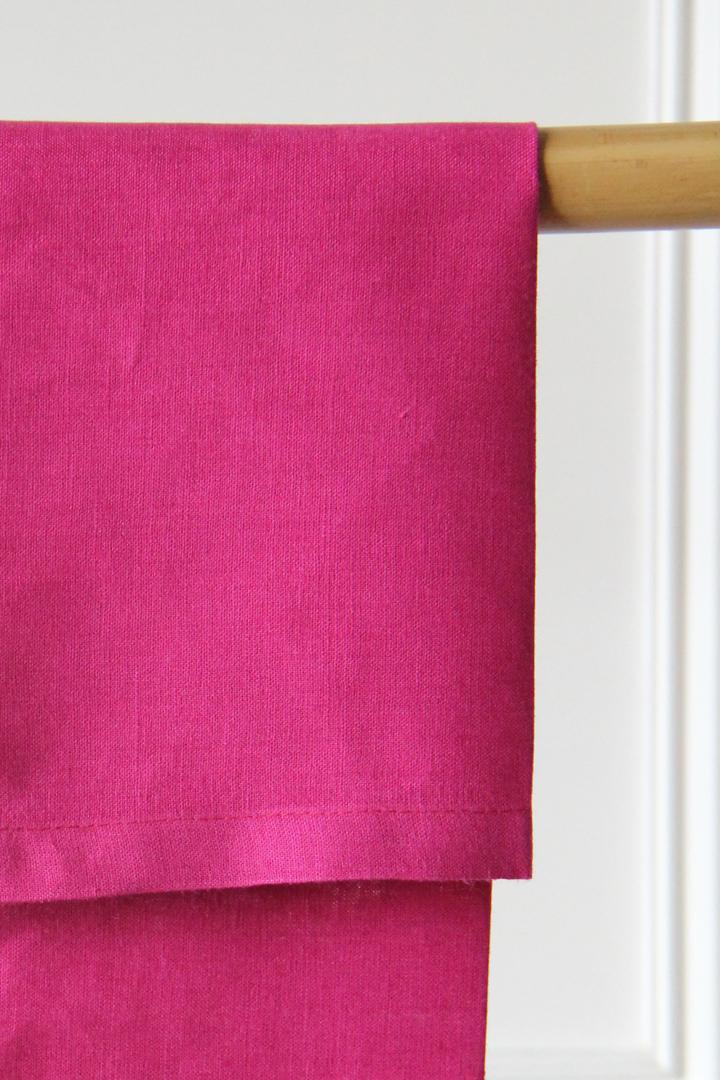 Servilleta de lino color rosa fucsia en alquiler desde 1 día, Madrid, Comunidad de Madrid, otras provincias