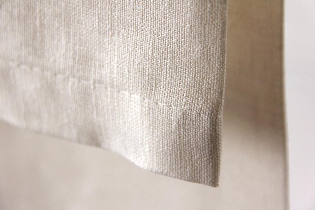 servilleta crema vainilla de lino ideal para combinar con mantelerias lisas o estampadas
