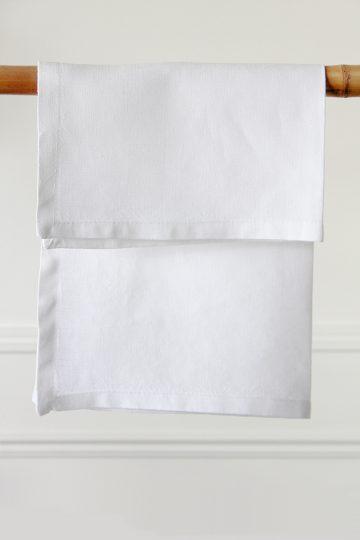 Servilleta de lino color blanco en alquiler desde 1 día, Madrid, Comunidad de Madrid, otras provincias