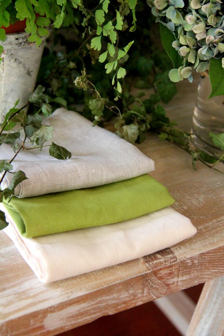 servilleta lino verde pistacho con mutitud de combinaciones con servilletas 100% lino: servilleta rosa fucsia, servilleta piedra, servilleta gris, servilleta azul turquesa, servilleta azul, servilleta vainilla y servilleta blanca